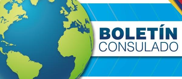 El Boletín informativo del Consulado de Colombia en Boston de abril de 2018