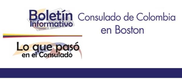 Conozca el resumen de las actividades recientes en las que participó el Consulado de Colombia en Boston