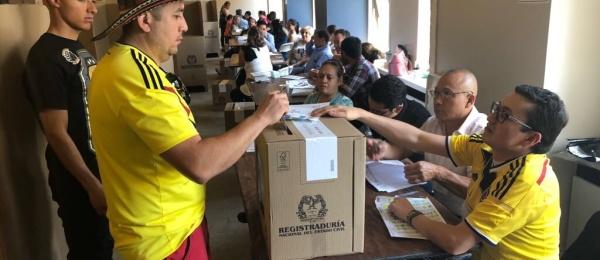 Consulado de Colombia en Boston concluyó con normalidad la segunda vuelta de las elecciones presidenciales